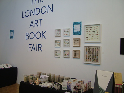 Andy Malone at London Art Book Fair